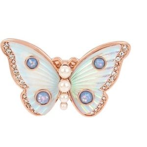 NWT Butterfly Ring by Betsey Johnson